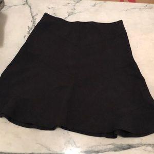 LOFT block A line floaty skirt
